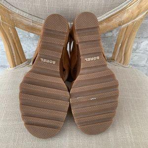 Sorel Shoes - Sorel Joanie lace up wedge sandal